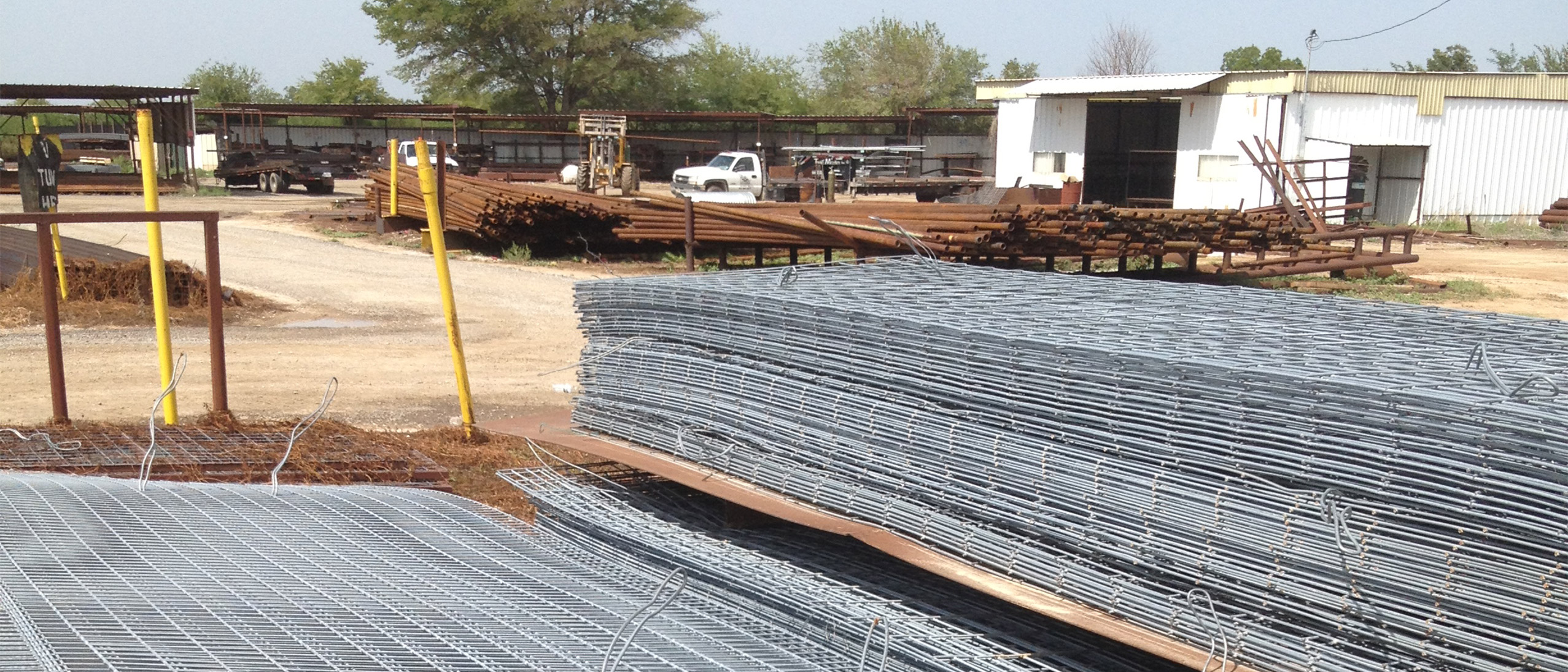 Some steel cattle panel, metals sold by Lowery Wholesale in Wise County, Reagan County and La Salle County, Texas.