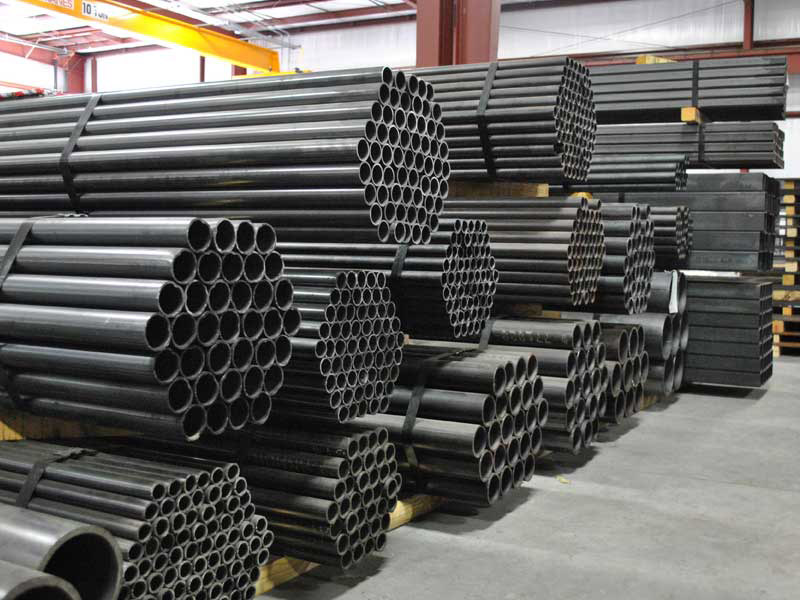 Steel tubes and square pipe sold by Lowery's Wholesale in Paradise, Wise County, Texas; Cotulla, Texas and Big Lake, Texas.